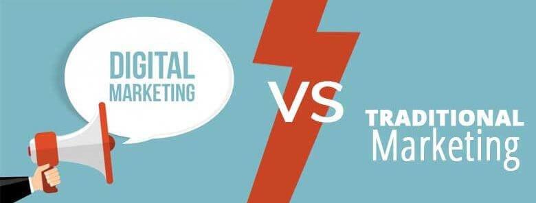 Digital Marketing Advantages Vs Traditional Marketing