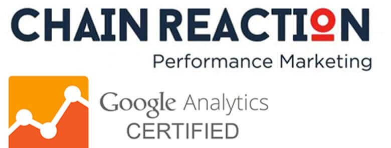 Chain Reaction; The First Local Company to Become Google Analytics Certified