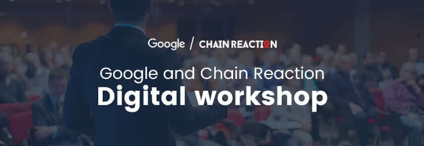 Chain Reaction, Google, and Twitter held their first marketing workshop in Jordan