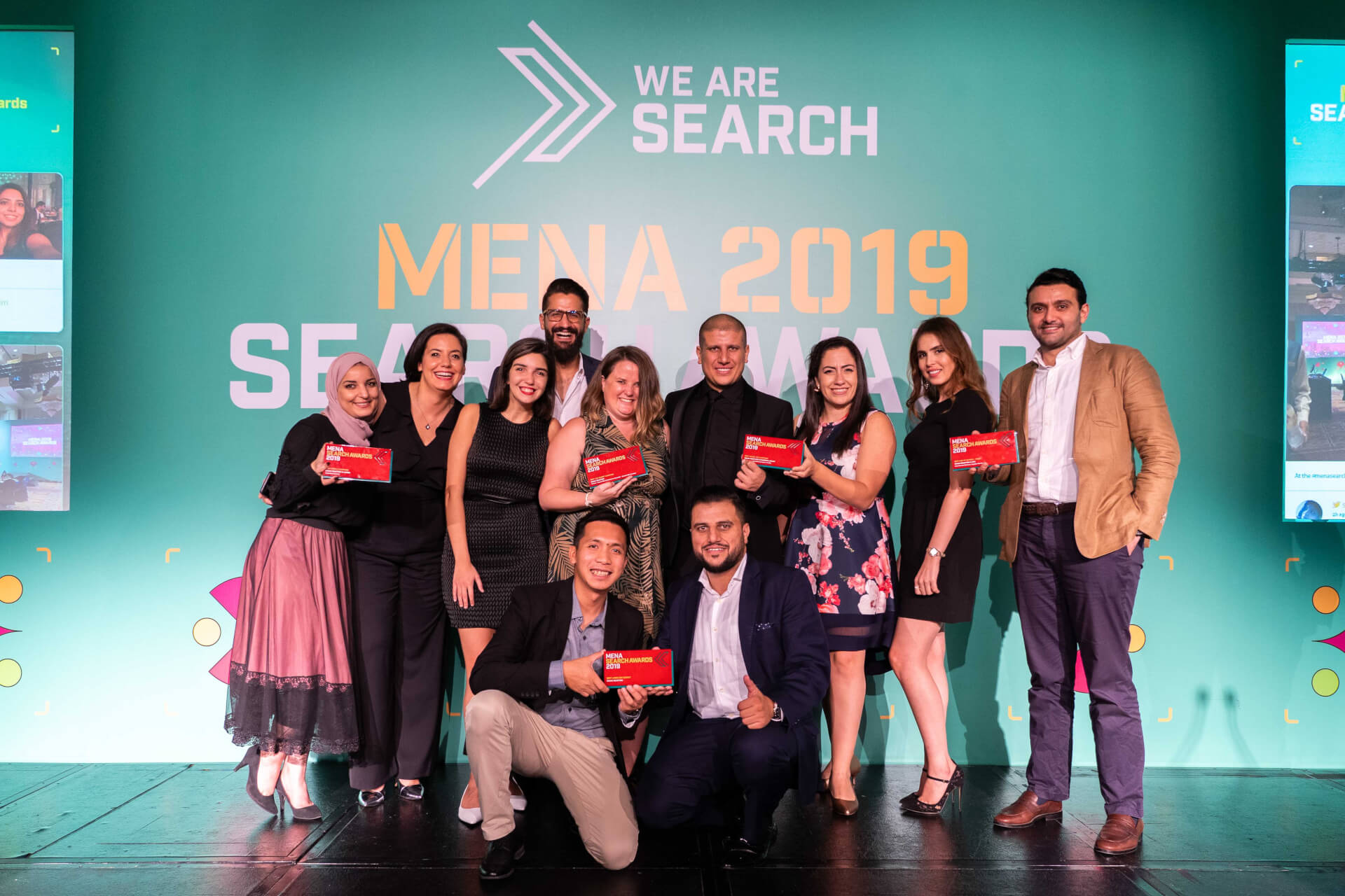 Chain Reaction Steals The Spotlight at The MENA Search Awards 2019